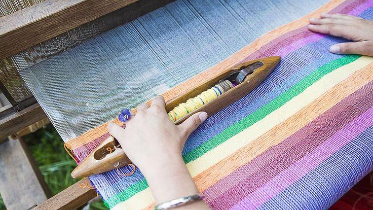 Weaving Loom, Weaving, Traditional