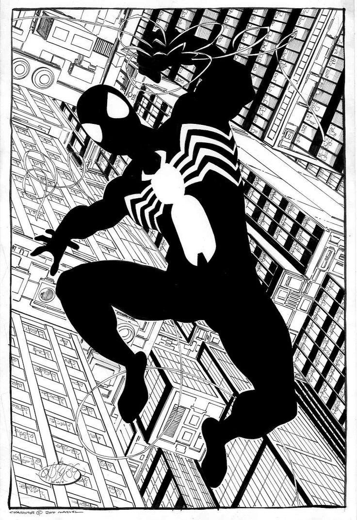 212 best black suit spider man images on pinterest marvel comics