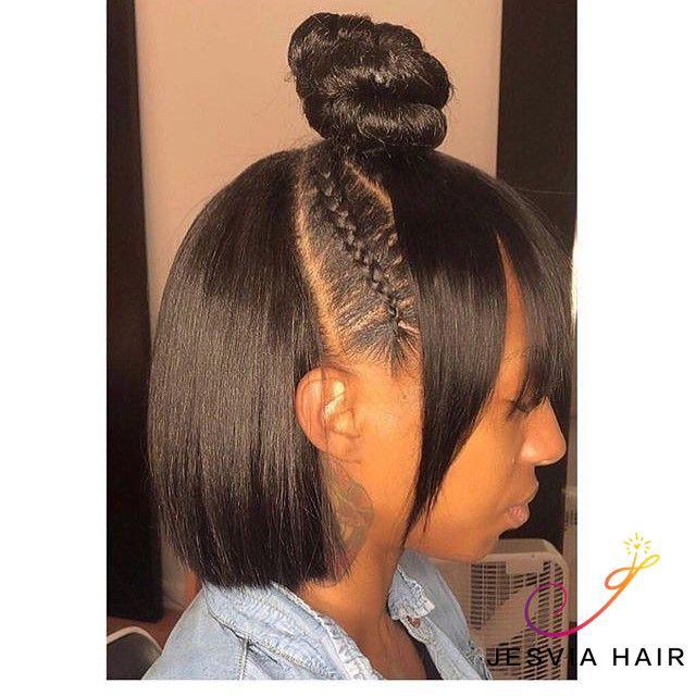 Jesvia Hair Brazilian Virgin Hair Straight Hair Styles Wig Hairstyles Virgin Brazilian Straight Hair