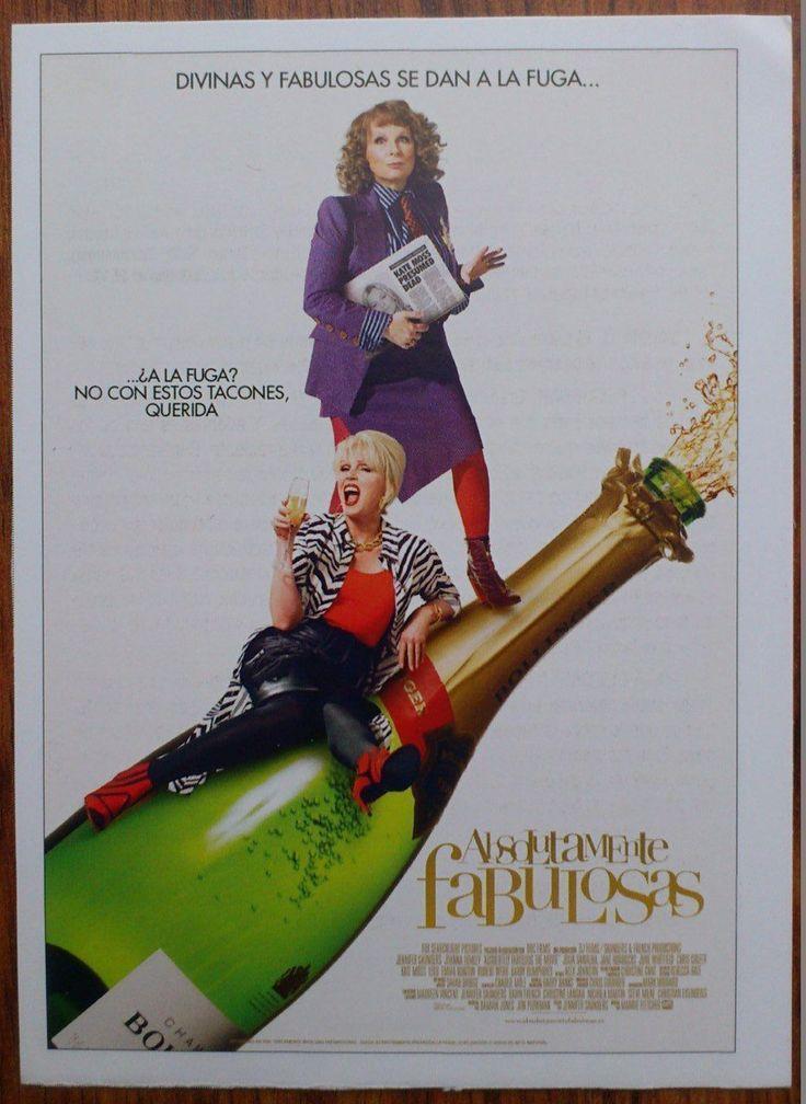 ABSOLUTELY FABULOUS: THE MOVIE - Gwendoline Christie, Joanna Lumley, Photo Card | eBay