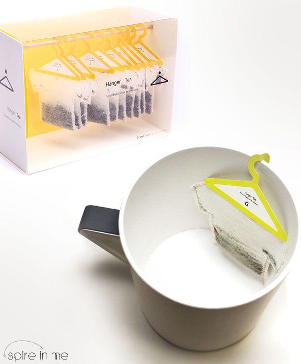 creative tea bags by Soon Mo Kang