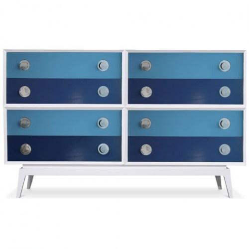 .: Idea, Blue, Modern Dresser, Furniture, Jonathan Adler, Photo