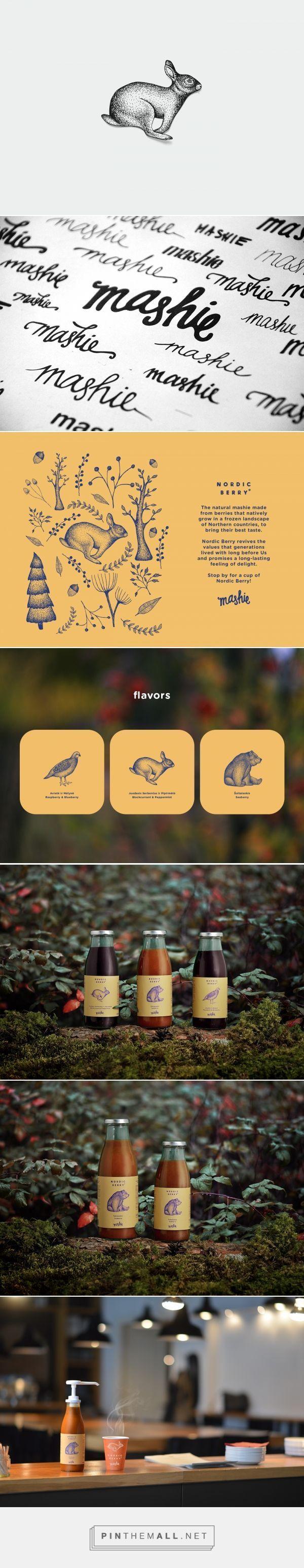 Nordic Berry Branding and Logo Graphic Design