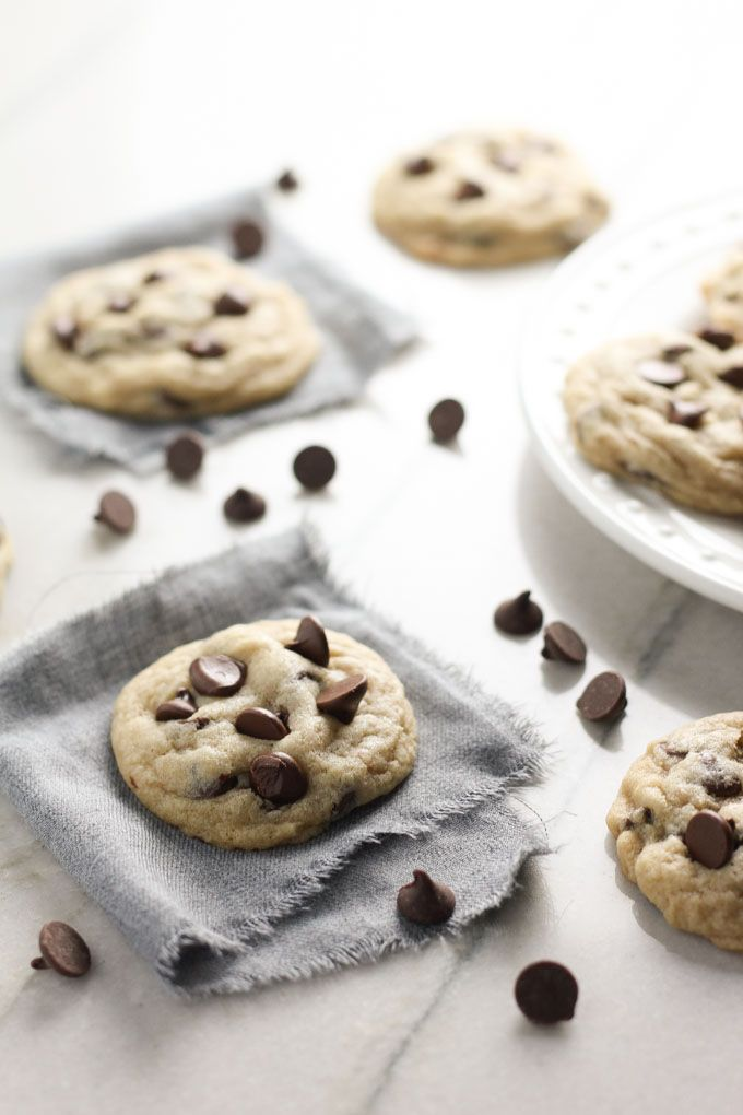 The Best Chocolate Chip Cookies - Baked in AZ