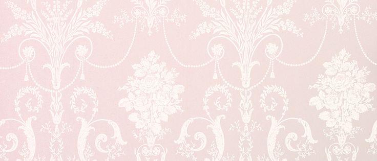 Josette Amethyst Wallpaper at Laura Ashley