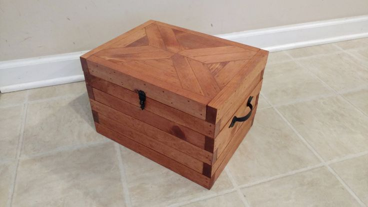 Wood Card Box, Memory Box, Keepsake Storage Box, Wood Box, Treasure Chest, Pirates Chest, Gunstock, Reclaimed Wood Box, Rustic Home Decor by OurTwistedCreations on Etsy