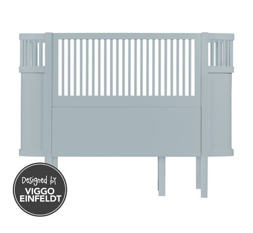 Sebra bed, baby & jr., cloud blue - Sebra