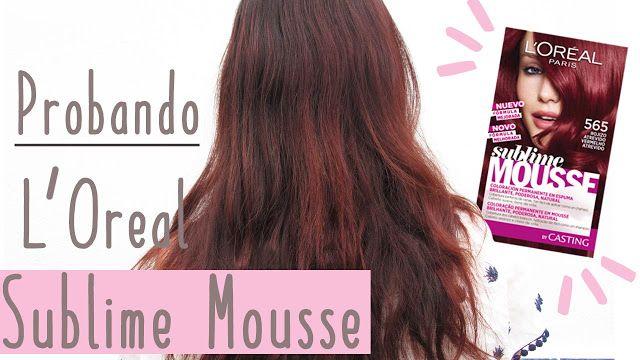Dreams of Love: Probando L'Oreal Sublime Mousse 565 Rojo Atrevido