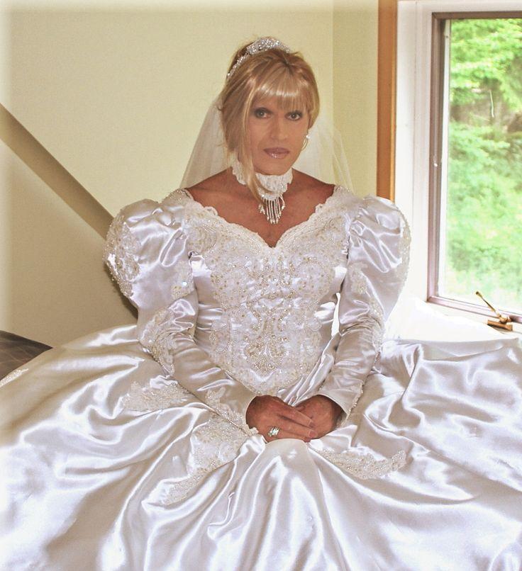 Transvestite Bride Transvestite Pinterest Crossdressers