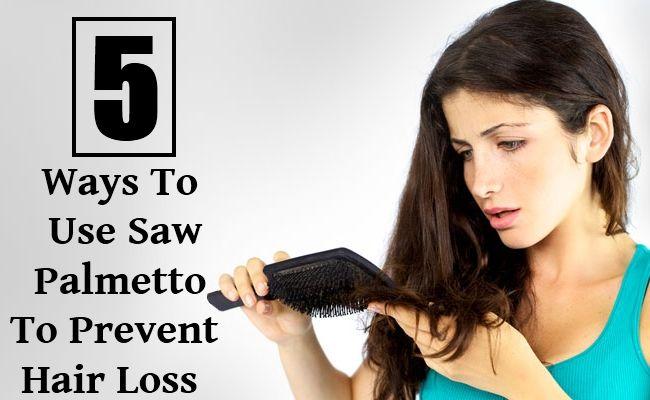Saw Palmetto Tea For Hair Loss