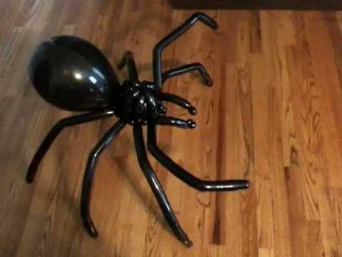Spider Balloon Animal - Non-Tutorial (Balloon Twisting & Modeling #10)