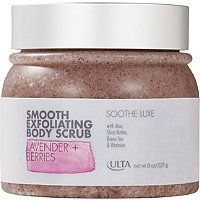 ULTA - Luxe Smooth Exfoliating Body Scrub in Lavender   Berries #ultabeauty