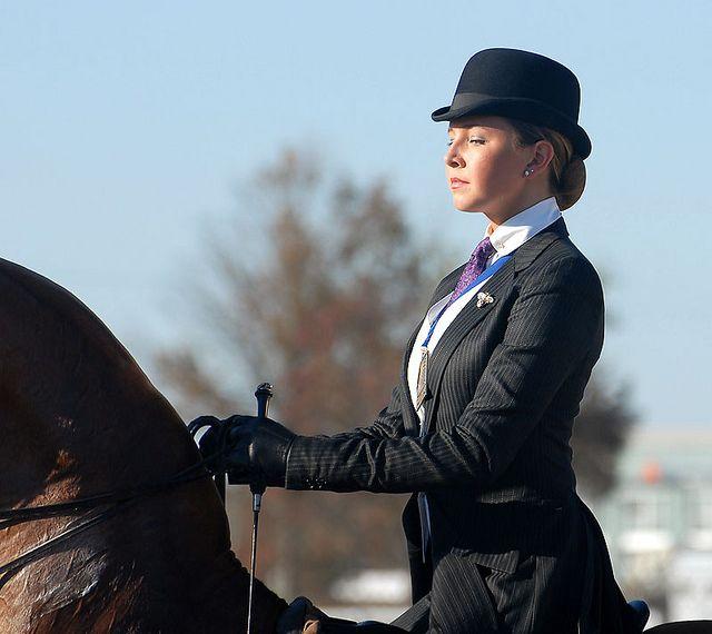 Saddleseat equitation. Gorgeous.