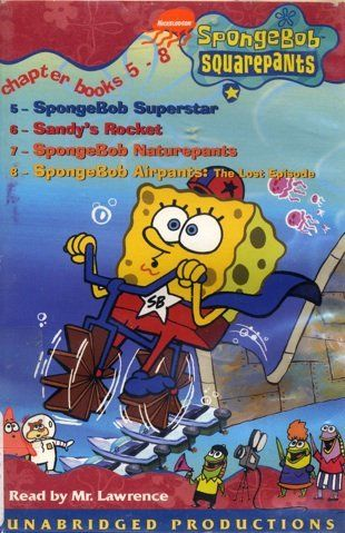 Spongebob Squarepants Chapter Books 5 - 8: Volume 2 @ niftywarehouse.com #NiftyWarehouse #Spongebob #SpongebobSquarepants #Cartoon #TV #Show