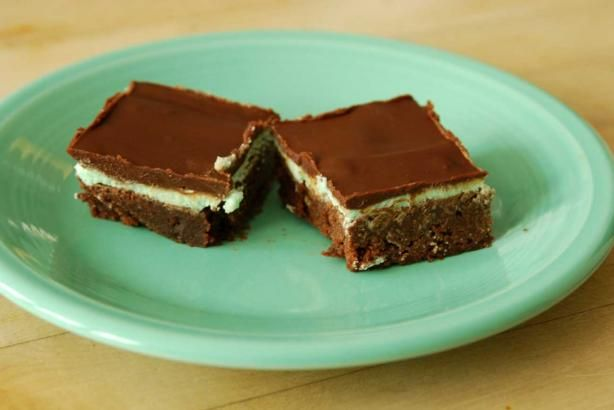 Paula Deen's Creme De Menthe Brownies Recipe