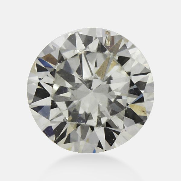 0.34 ct Round Gray SI1 Clarity 4.51 mm - 2.69 mm Size earth mine Loose Diamond