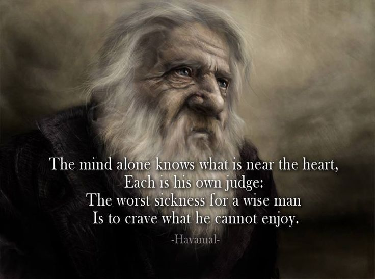 Viking sayings in norse