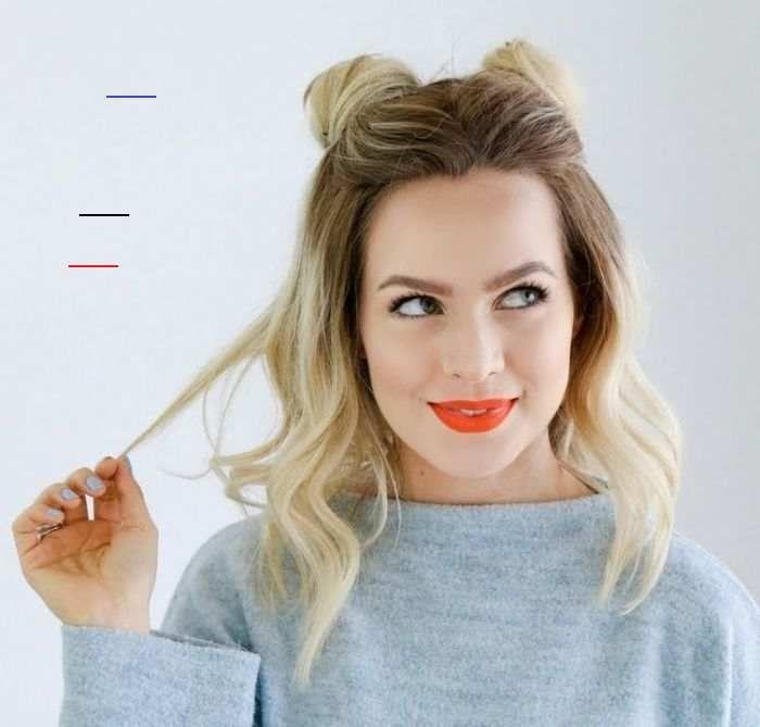 Epingle Par Clara Ardit Sur Coiffure Idee Coiffure Facile Coiffure Facile Cheveux Mi Long