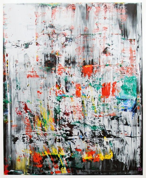 Gerhard Richter - one of my favorite abstract artists