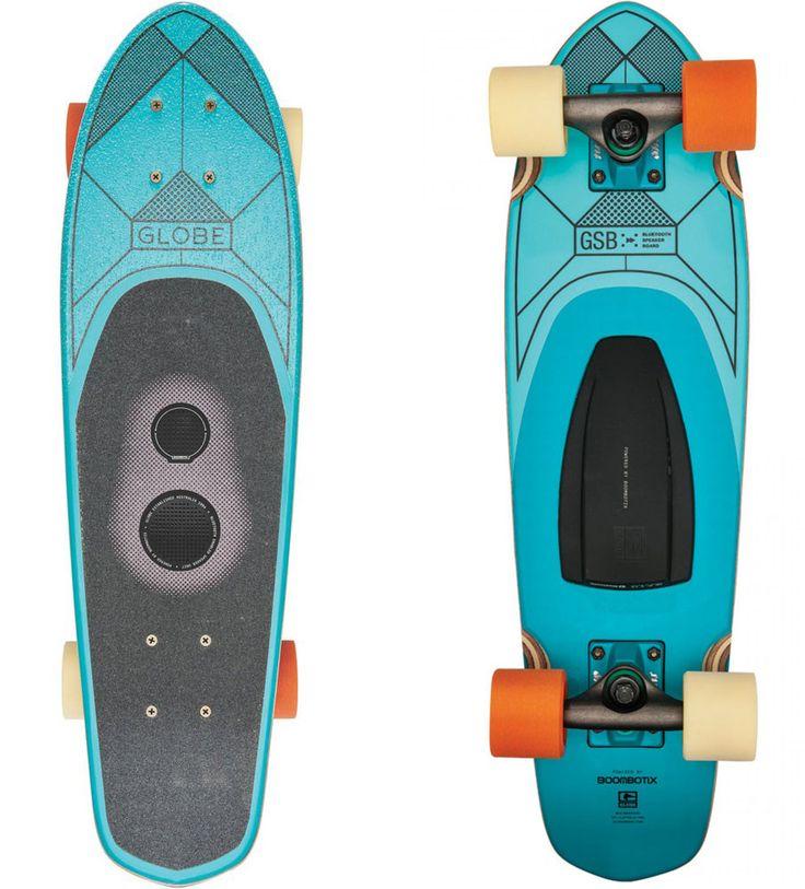 Globe Skateboards Designed With Built-in Wireless Speaker