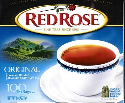 I drink this tea every day - with milk!