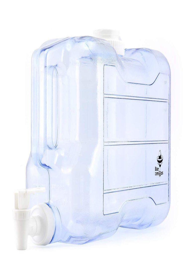 Details About Water Container Tap Desktop Dispenser Plastic Fridge