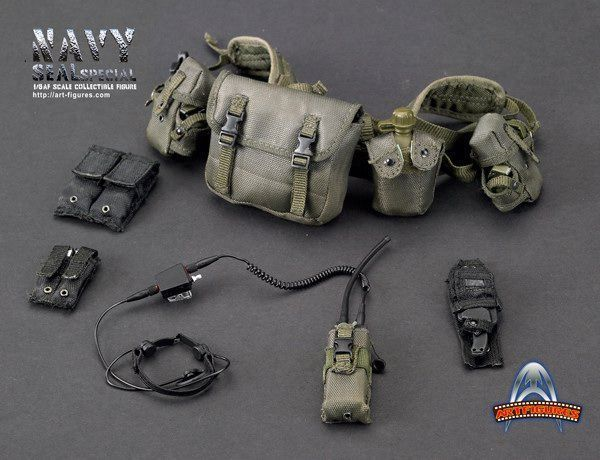 onesixthscalepictures: Art Figures NAVY SEAL Special : Latest product news for 1/6 scale figures (12 inch collectibles) from Sideshows Collectibles, Hot Toys, Medicom, TTL, Triad Toys, Enterbay and others.