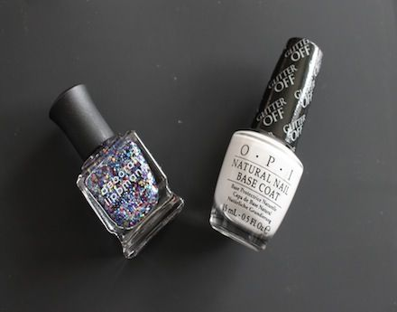 For anyone who's experienced the cement that is glitter polish...