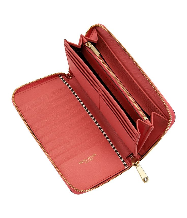 W 57th Zip Around Wallet - Zip Clutch Bag | Henri Bendel