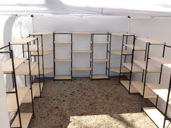 Trade Show Booth With Shelves : Canopy booth or indoor display by