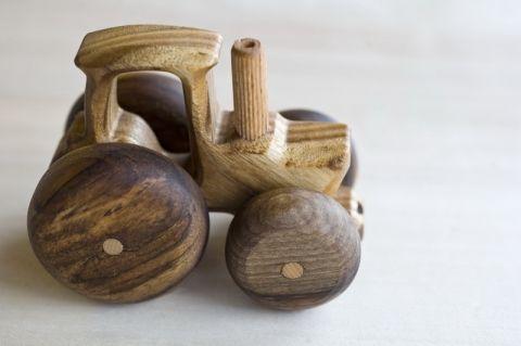Eurowood - Fa verdák kistraktor, Baba-mama-gyerek, Játék, Fajáték, #wooden #toy #tractor