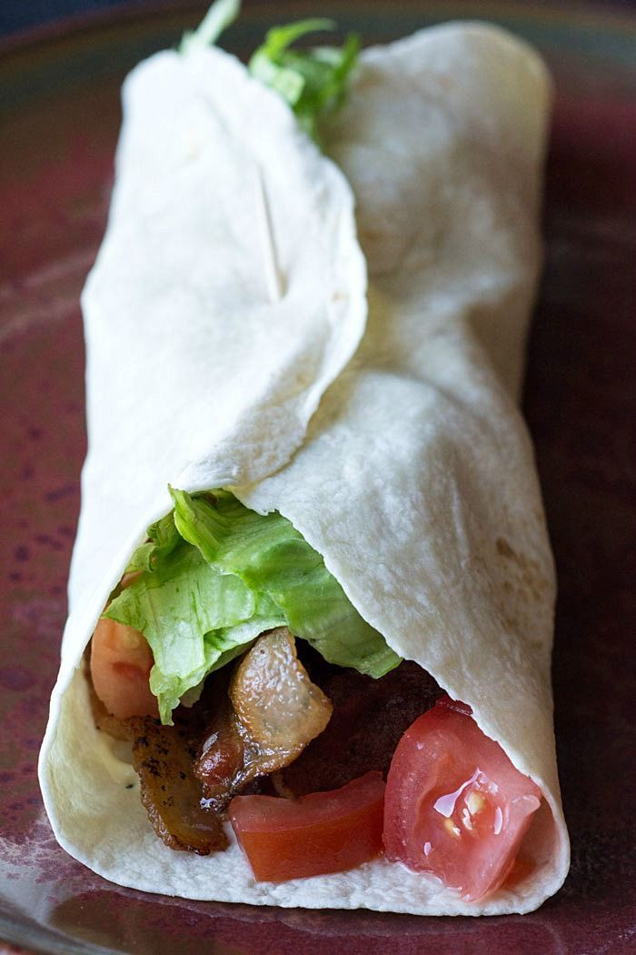 This BLT wrap is not only delicious, it's low carb, too. There's no need to give up your favorite sandwich; just substitute that high-carb bread for a low-carb tortilla. Yum!