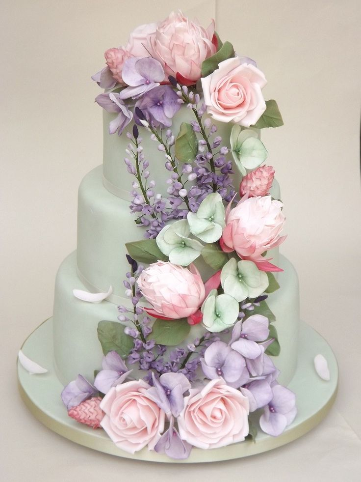sugar flower wedding cakes 25 best ideas about hydrangea wedding cakes on 7794