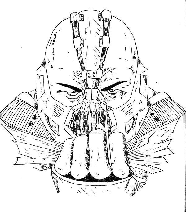 Bane Batman Coloring Pages Tips