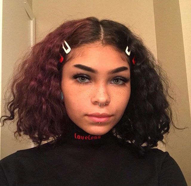 Audrees Dancestor Aesthetic Hair Clip Hairstyles Curly Hair Styles