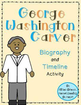 George Washington Carver Timeline Activity