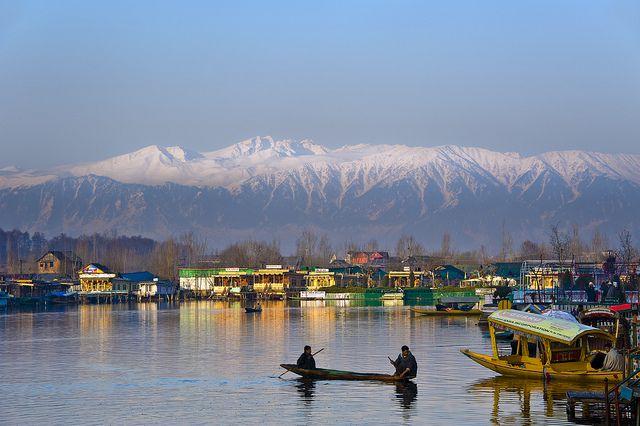 Morning at Dal Lake, Kashmir, India