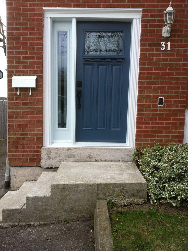 One of our door installations.