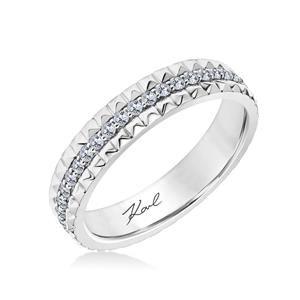 33 Ka140p065 L Yellow Diamond Ringsdiamond Band