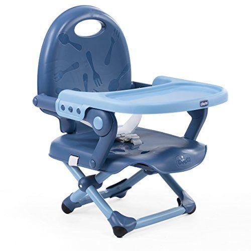 Chicco Rehausseur Pocket Snack Deep Blue: Le rehausseur de chaise pocket snack est la solution idéale pour permettre à l'enfant de partager…