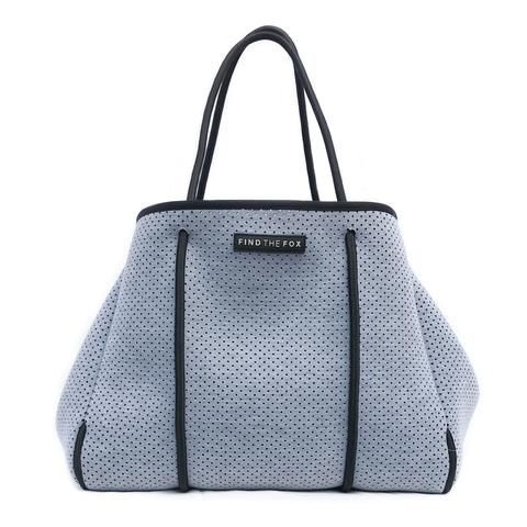 Neoprene Tote Bag in Winter Grey | Find The Fox