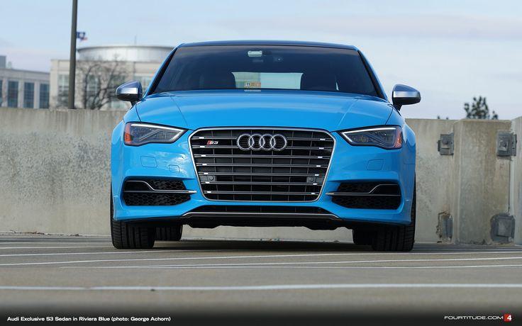 Audi Exclusive S3 Sedan In Riviera Blue Mica Audi