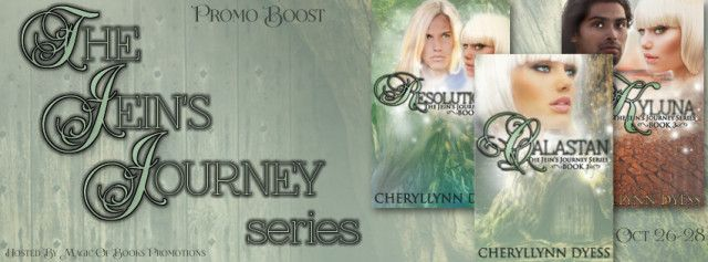THE JEINS JOURNEY SERIES by Cheryllynn Dyess