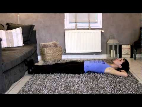 ▶ BVF- 3 exercices d'abdos à faire quand on a mal au dos ! - YouTube