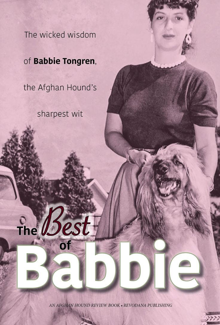 The subtitle of this book − The Wicked Wisdom of Babbie Tongren, the Afghan Hound's Sharpest Wit — says it all: Breeder, judge, exhibitor and perennial gadfly, Babbie Tongren was the grande dame of Afghan Hounds, writing incisively and unflinchingly about the breed she loved. Here, for the first time, is a collection of her Continue Reading..