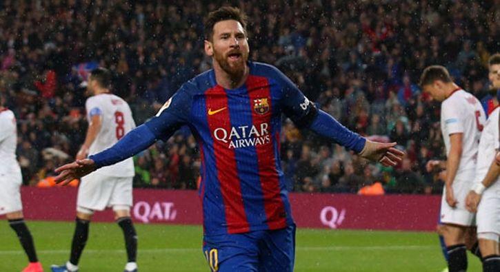 #SPOR Barcelona, Sevilla'ya gol oldu yağdı!: İspanya La Liga'nın 30. hafta maçında Barcelona sahasında Sevilla'yı 3-0 mağlup etti.