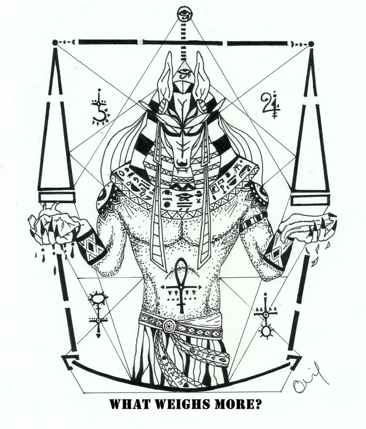 Anubis Tattoo artwork by Guilherme Souza                              …