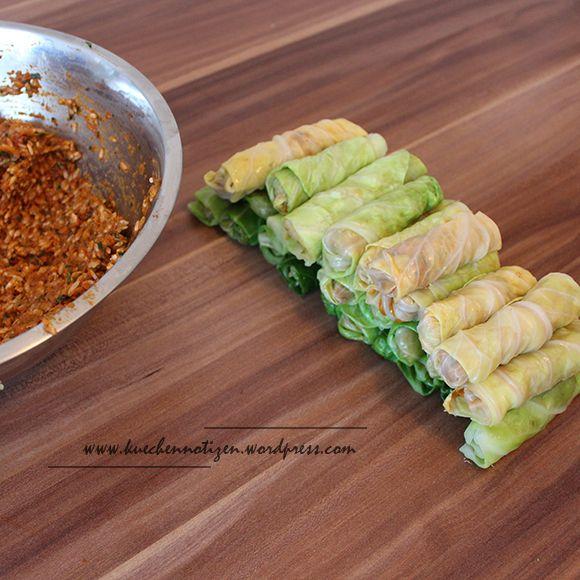 Die besten 25+ Gefüllte kohlblätter Ideen auf Pinterest - indische k che vegetarisch