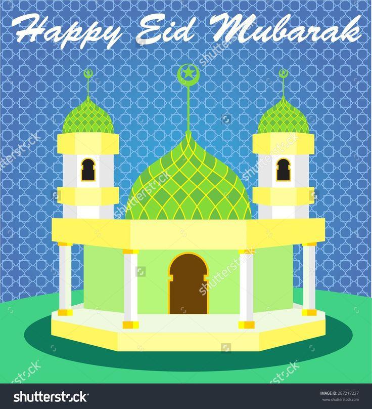 stock-vector-happy-eid-mubarak-and-cartoon-mosque-287217227.jpg (1456×1600)