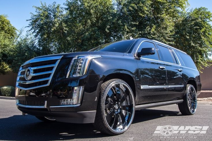 2015 Escalade With Custom Wheels 2015 Cadillac Escalade